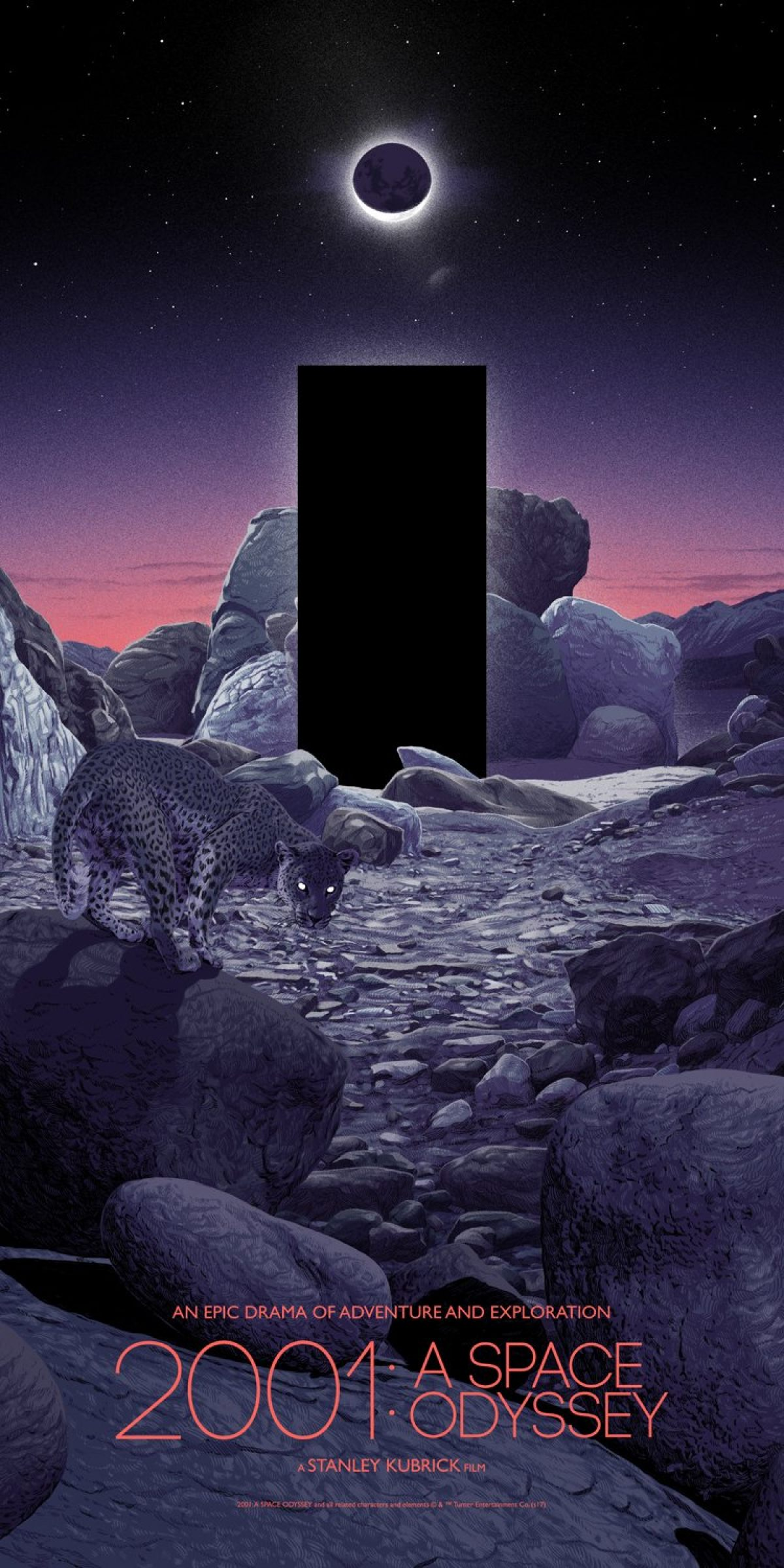 exclusive matthew woodson walks us through the making of his 2001 a space odyssey poster birth movies death exclusive matthew woodson walks us