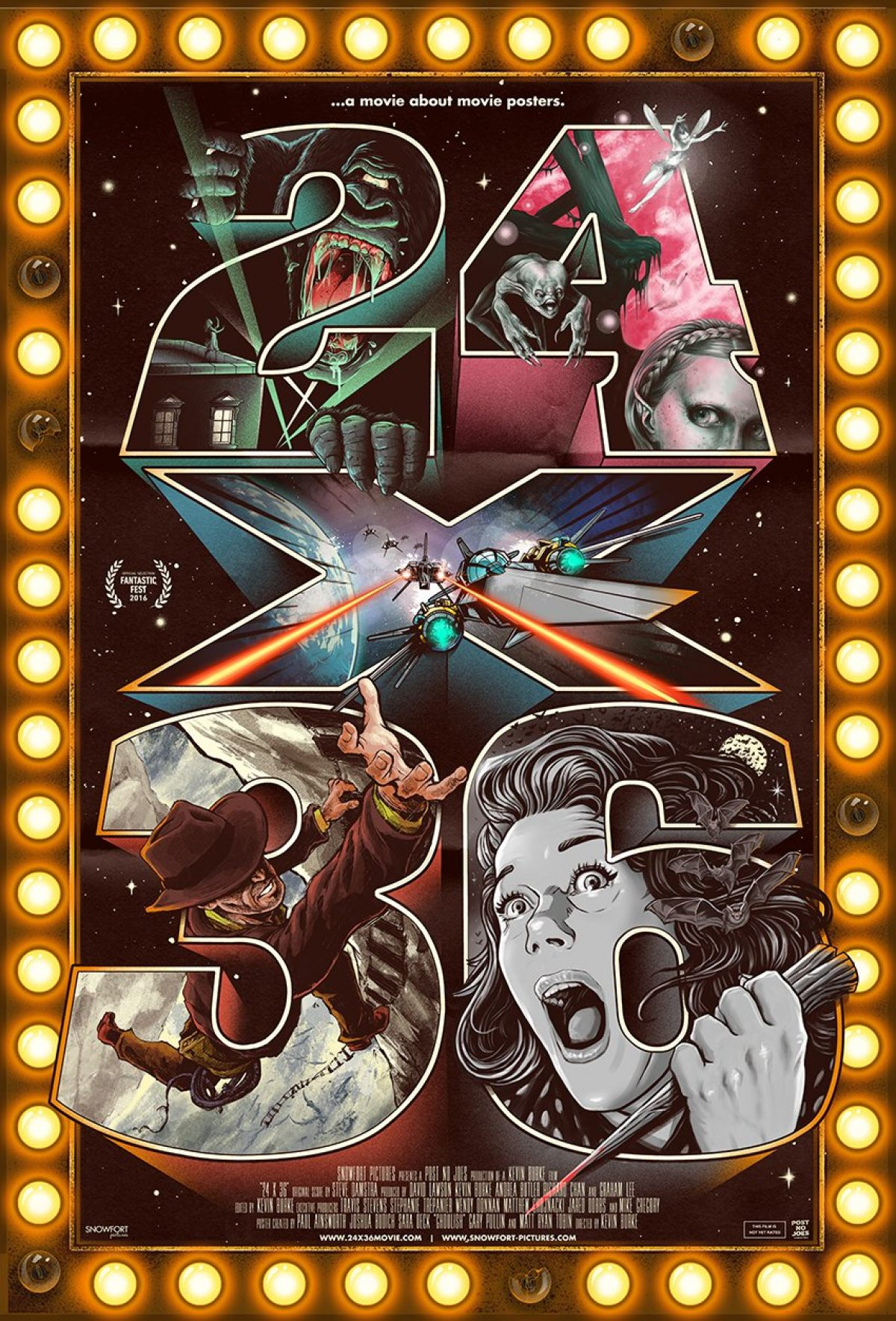24x36 poster design - Fantastic Fest Always Has Great Movie Oriented Documentaries Playing And This One Looks Like No Exception We Ll See Next Week