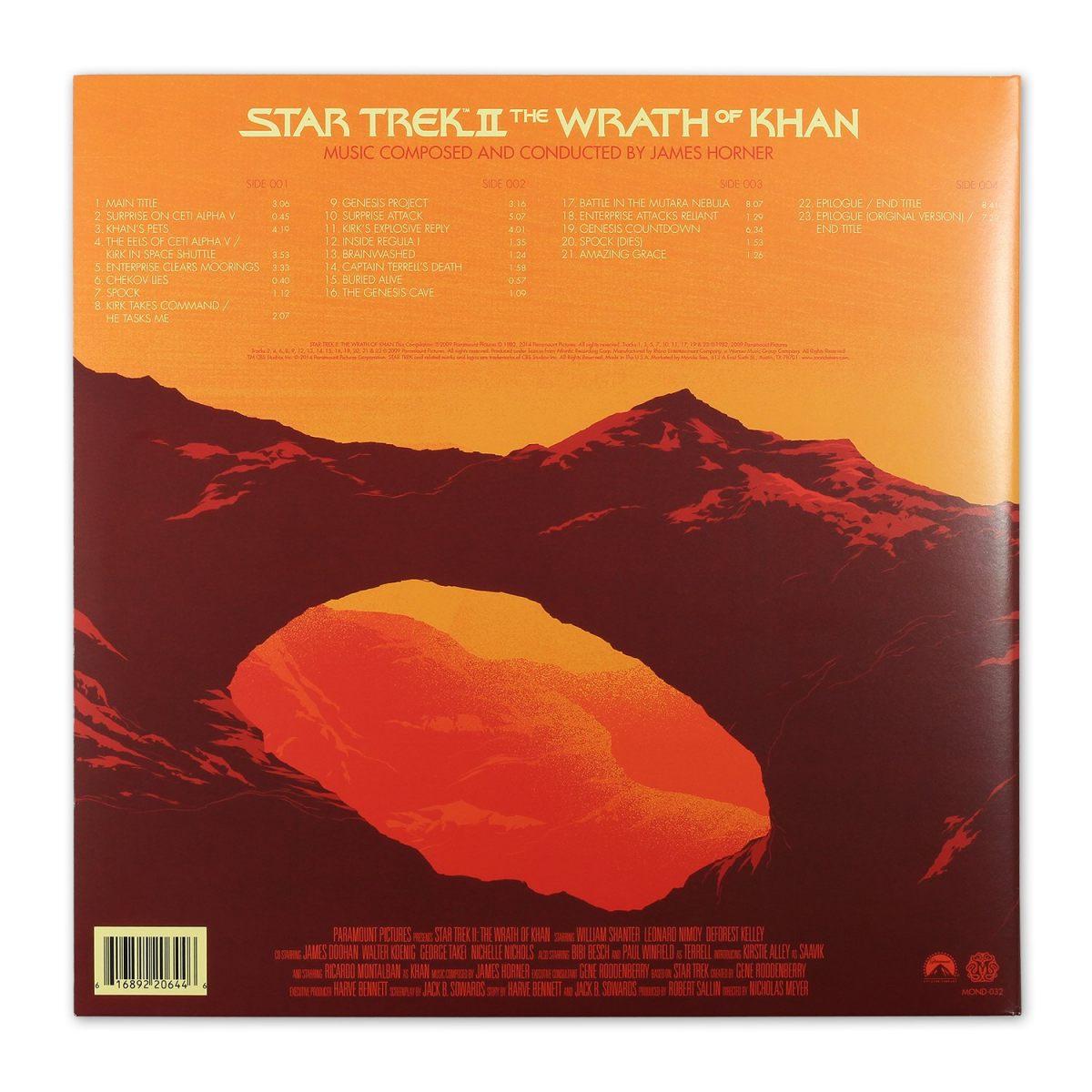 Mondo Presents The Star Trek Ii The Wrath Of Khan Score