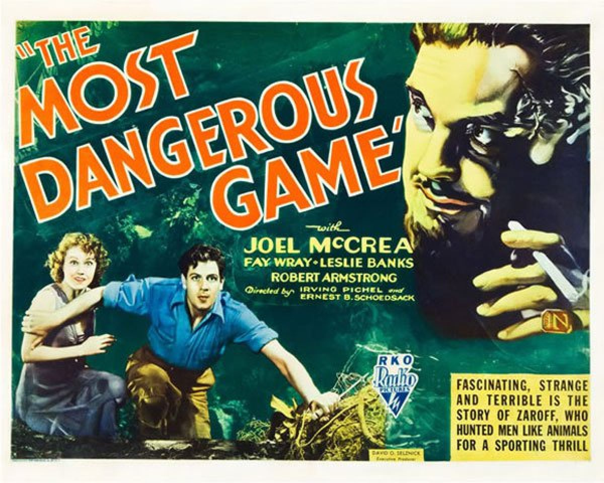 Essay On The Most Dangerous Game