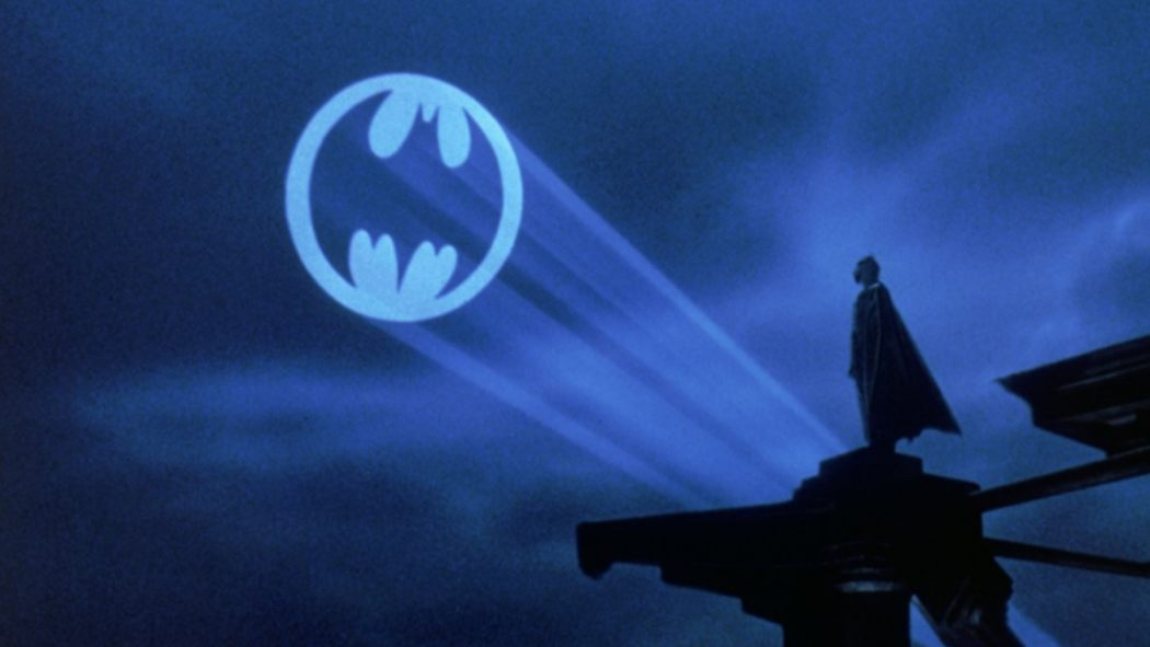 tonight the bat signal shines in los angeles for adam