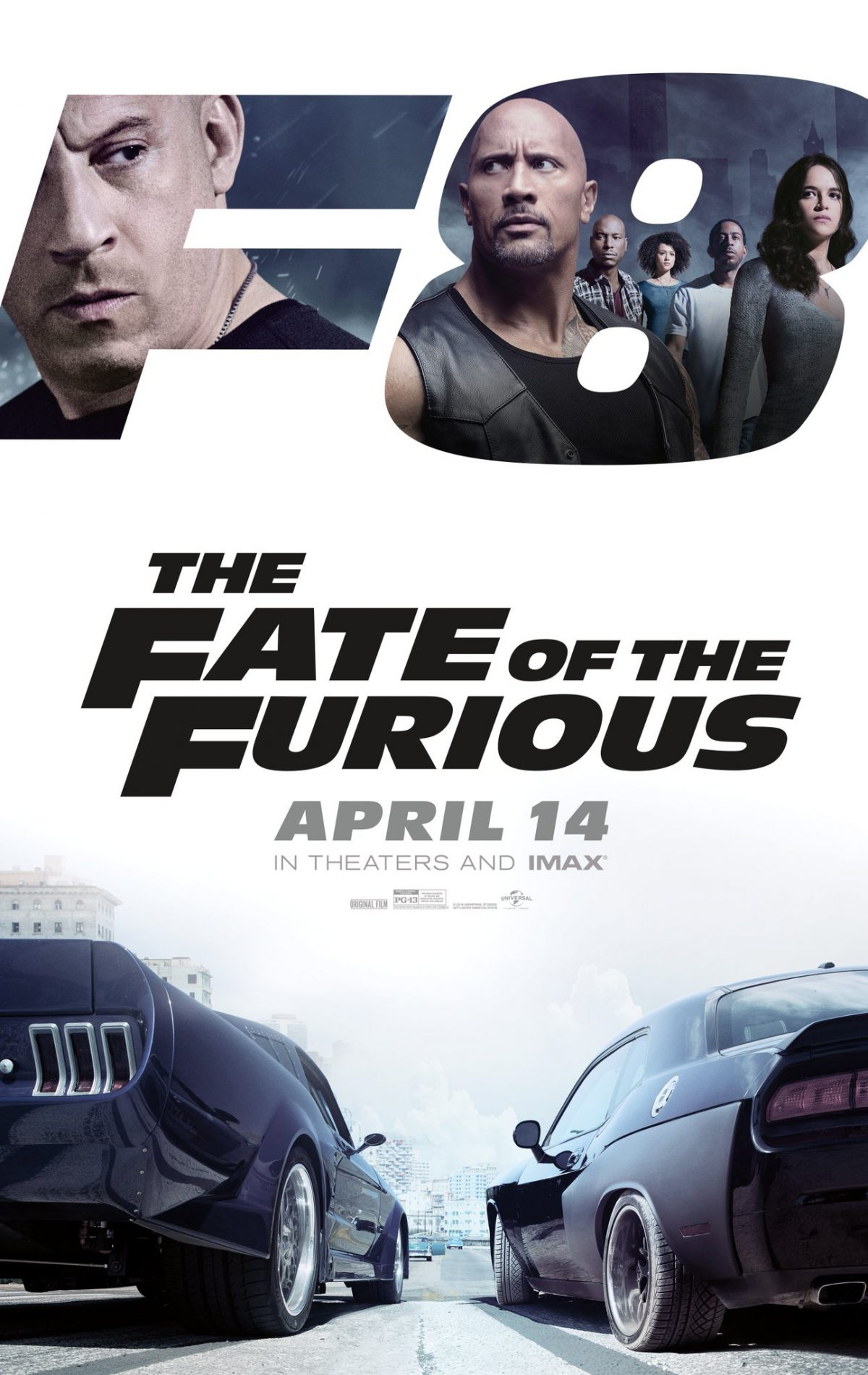 Image result for fate of the furious movie poster