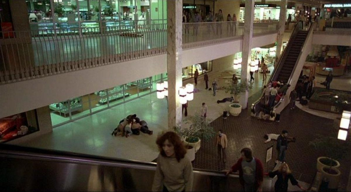 Image result for DAWN OF THE DEAD 1978 MALL