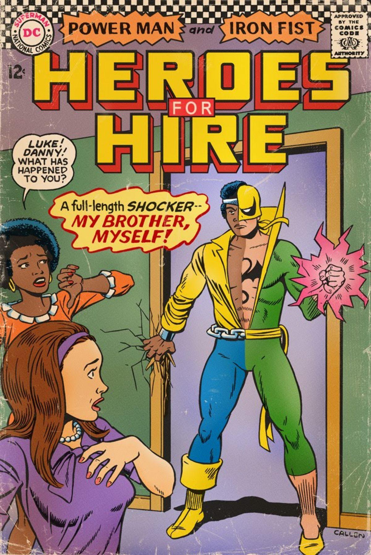 What If 60s/70s Marvel Comics Had DC Comics Covers