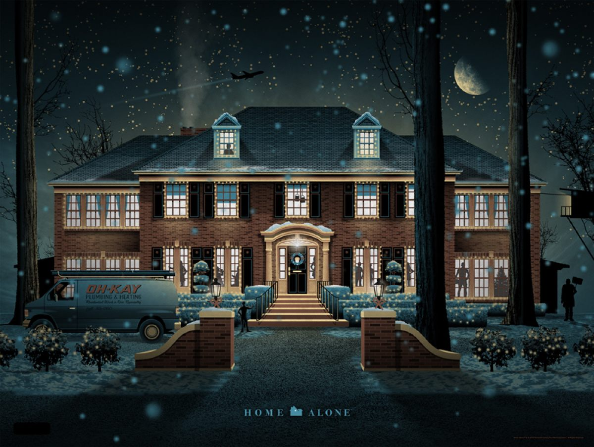 Mondo S Home Alone Poster Arrives Just In Time For The