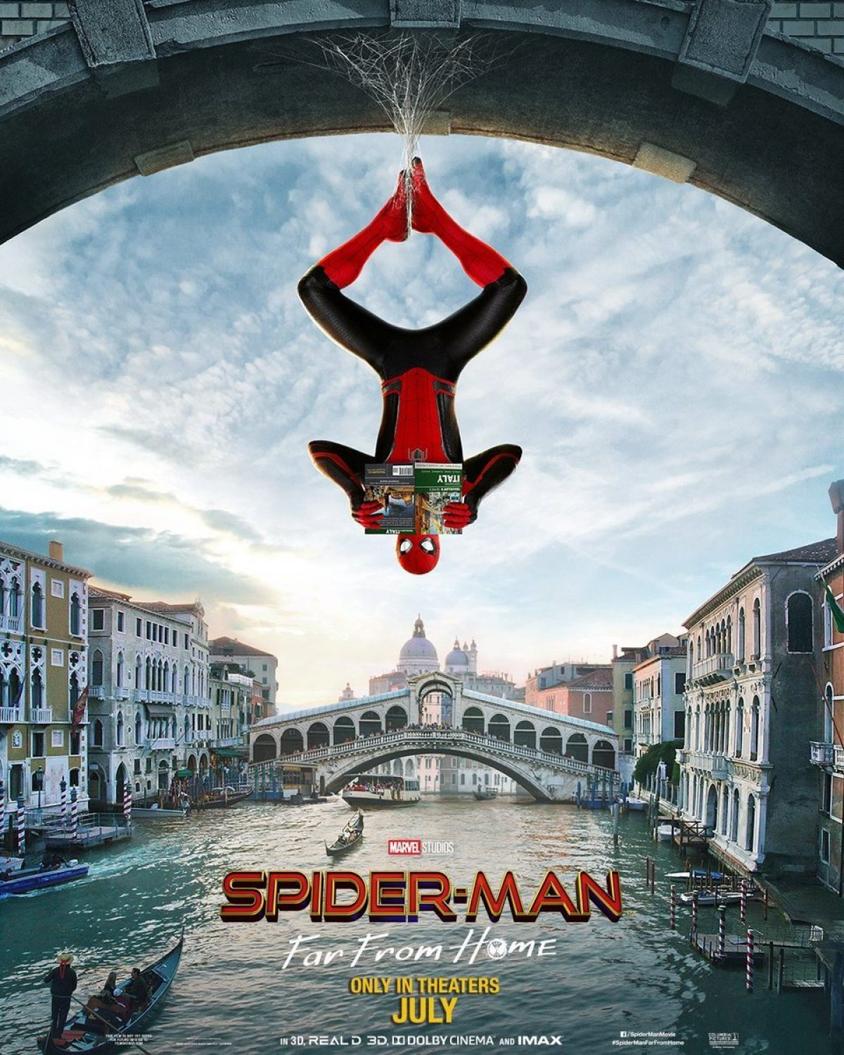 Spider-Man: Far From Home Posters Introduce New Look For Spidey