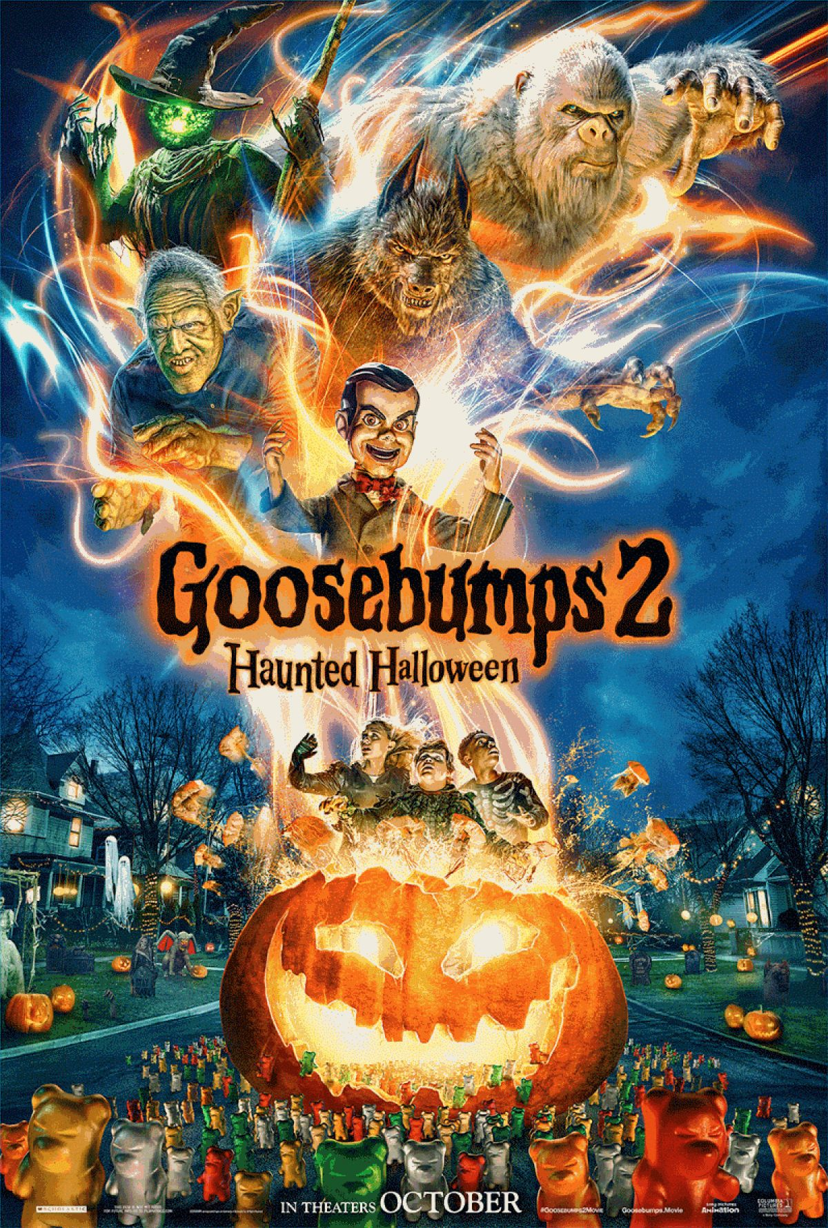 R L Stine S Monsters Return In Goosebumps 2 Haunted Halloween Birth Movies Death