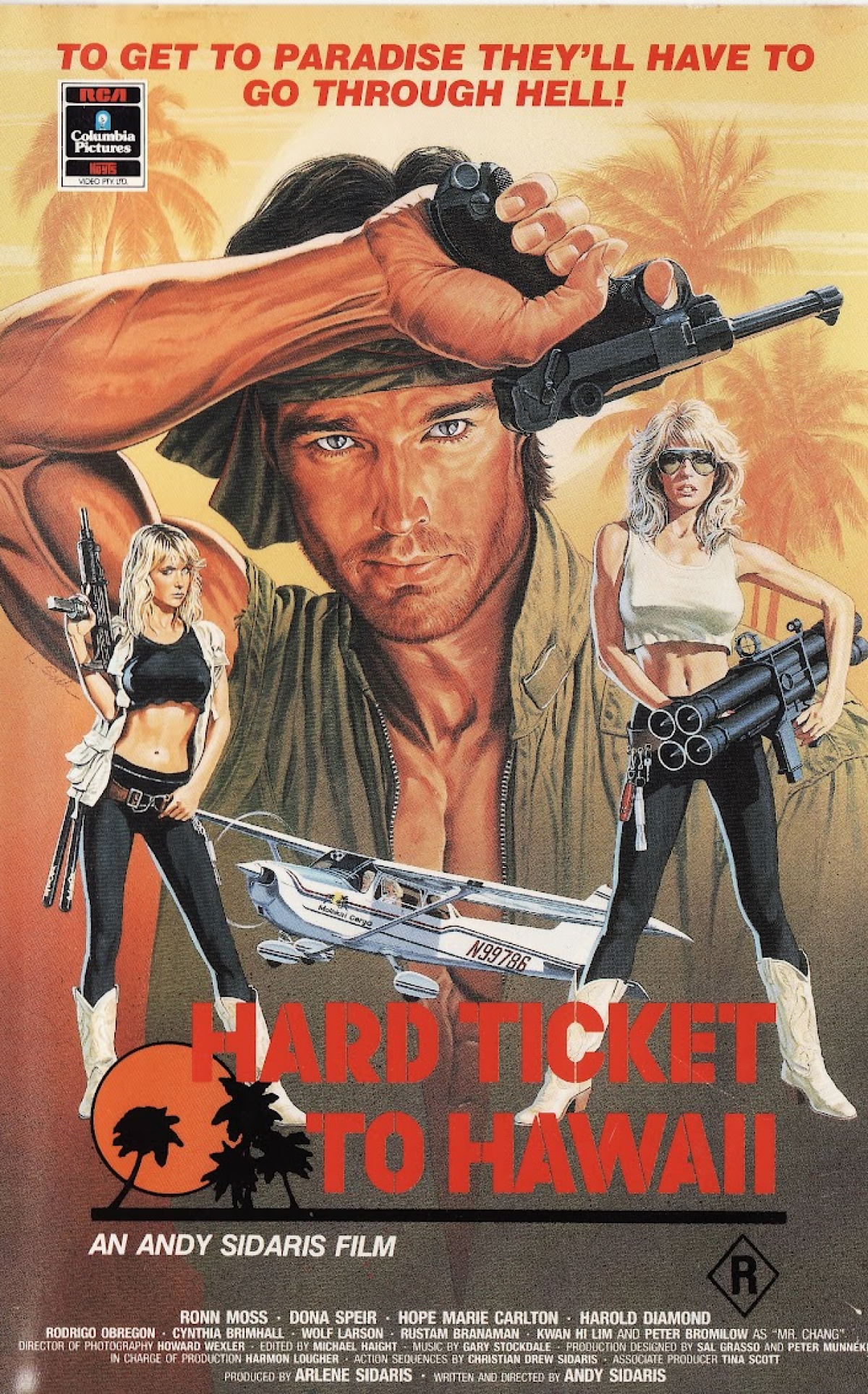 The Thirty Seventh Entry Into This Disreputable Canon Is Andy Sidaris Utterly Genuine Trash Action Face Melter Hard Ticket To Hawaii