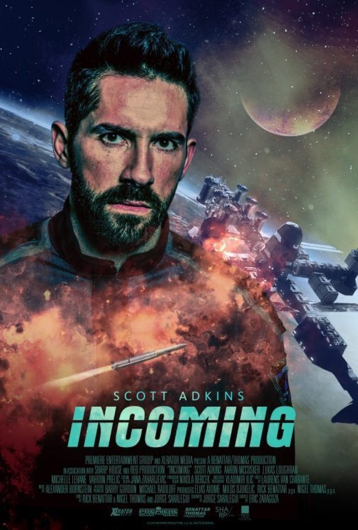 Incoming Scott Adkins To Kick Dudes In The Face In Outer Space Birth Movies Death