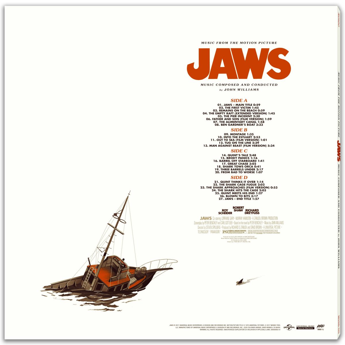 Mondo S Jaws Soundtrack Is A Jaw Dropper Birth Movies Death
