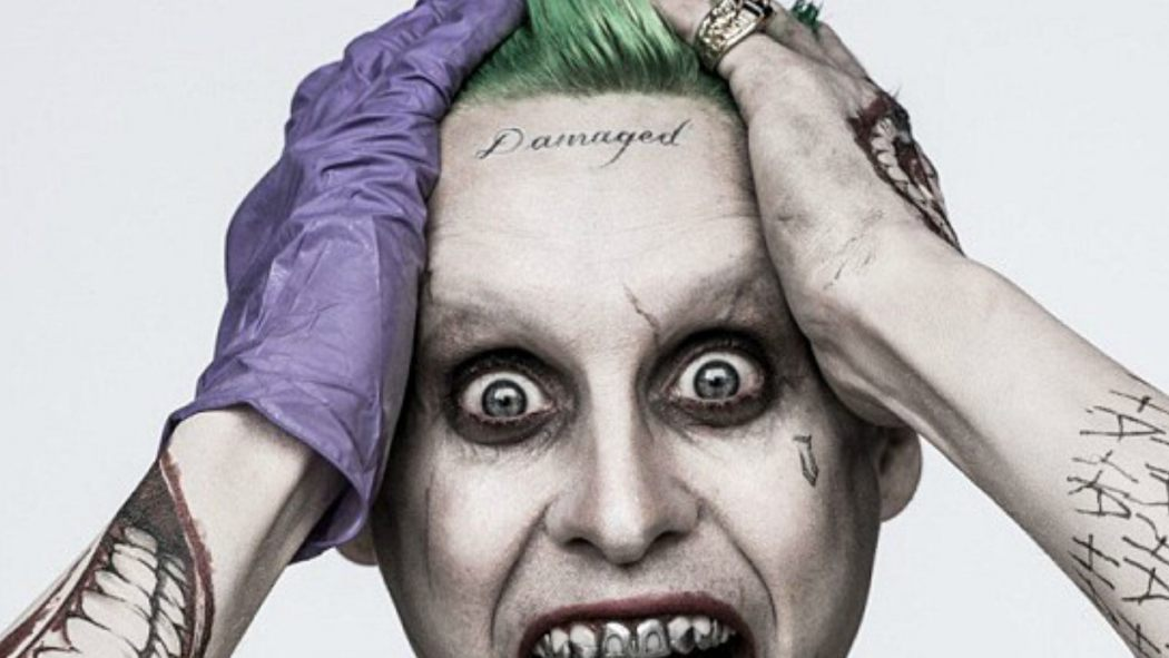 Finally david ayer reveals why the joker has that dipshit for Suicide squad face tattoo