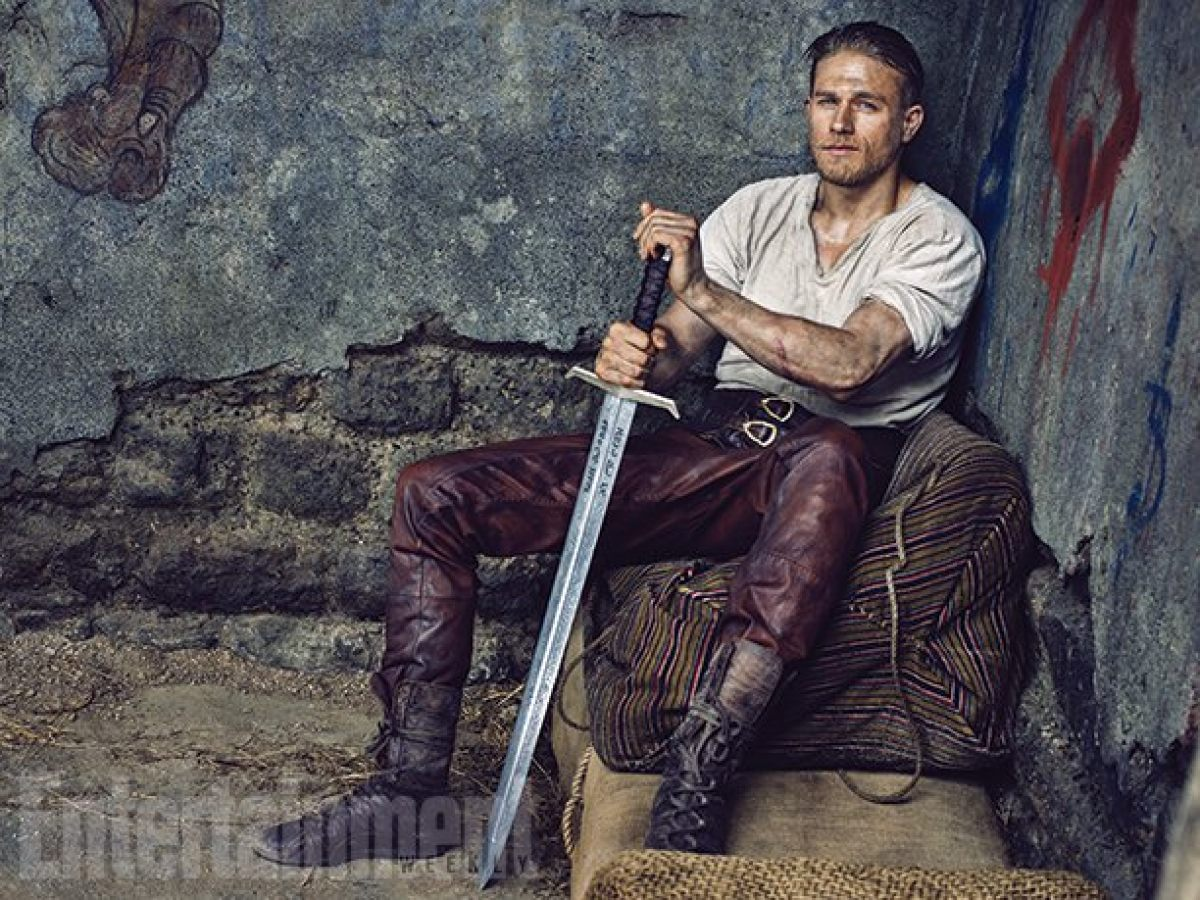 Charlie Hunnam's King Arthur Would Like To Pour You A Half-Caff Non-Fat Soy   Birth.Movies.Death.