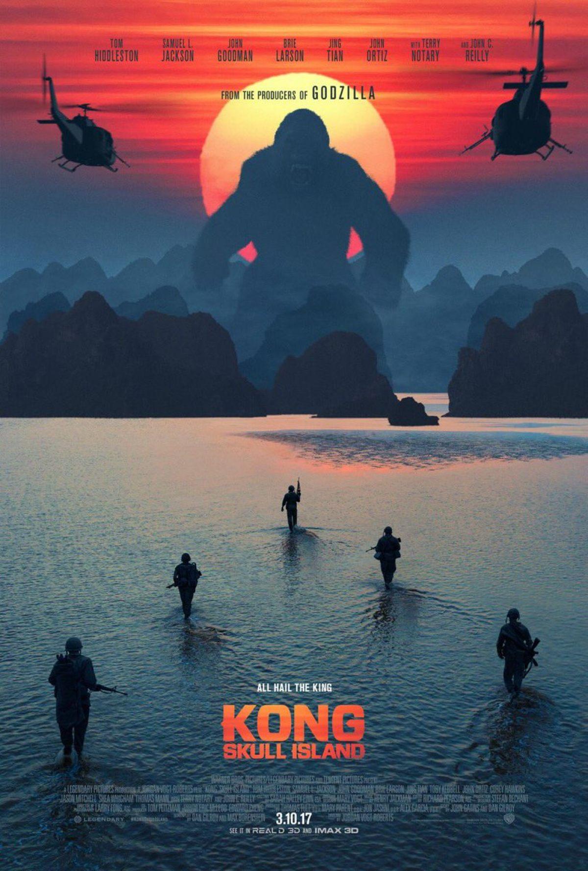 Kết quả hình ảnh cho Kong: Skull Island poster