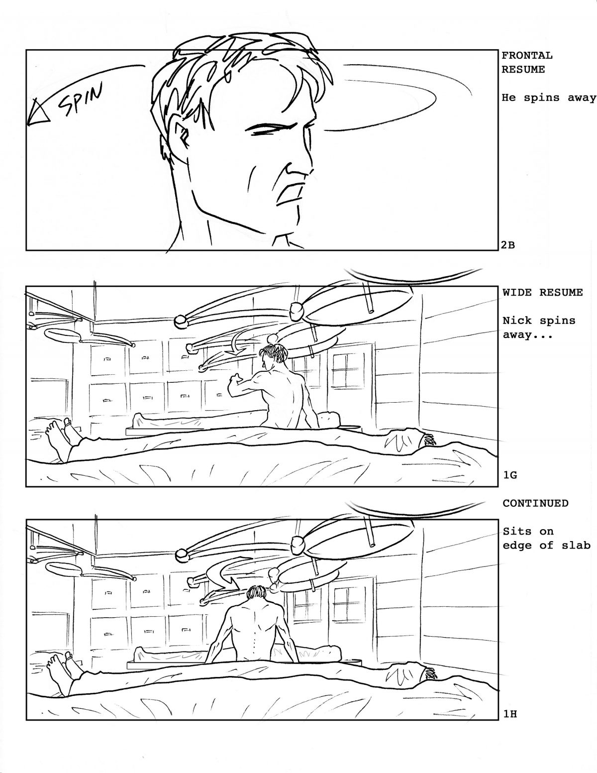 Exclusive Check Out A Ton Of Storyboards From Universal S