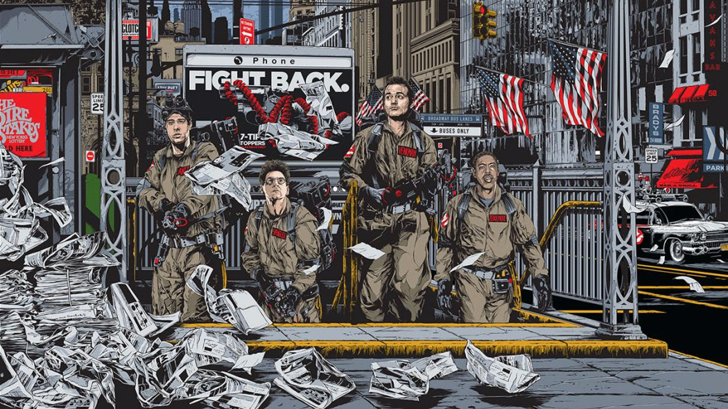 Mondo's Dropping A Ton Of Awesome New GHOSTBUSTERS Stuff Tomorrow