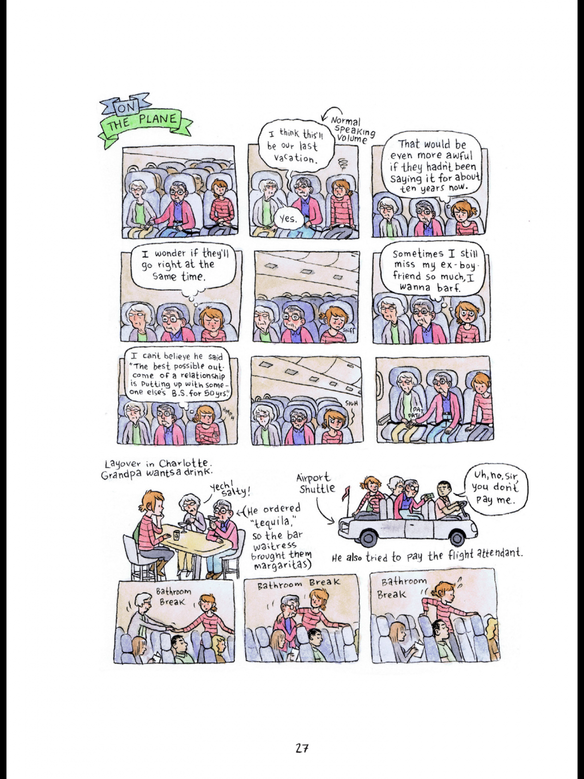 One Of The Major Pleasures Reading A Lucy Knisley Comic Is Her Structural Playfulness Each Works Contains Experiments And Surprises