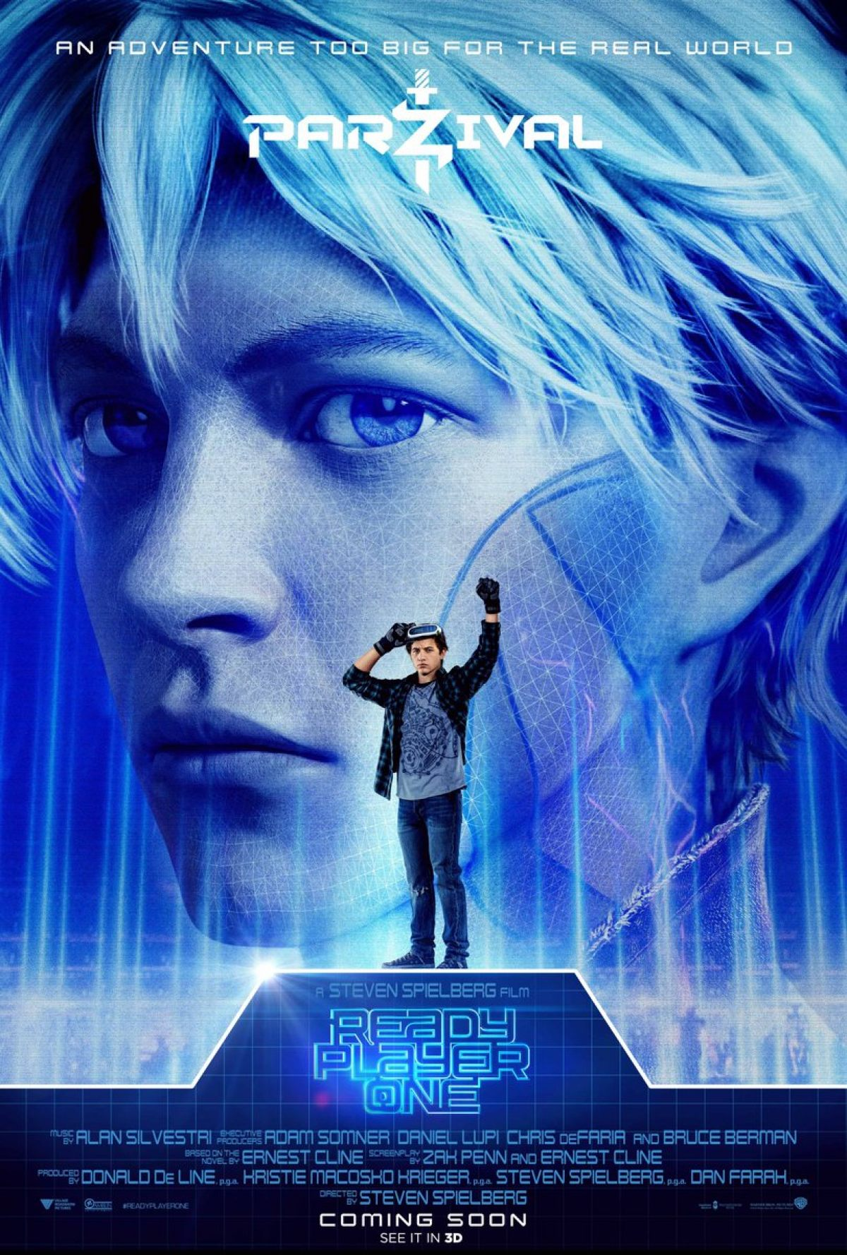 These READY PLAYER ONE Character Posters Are Colorfully