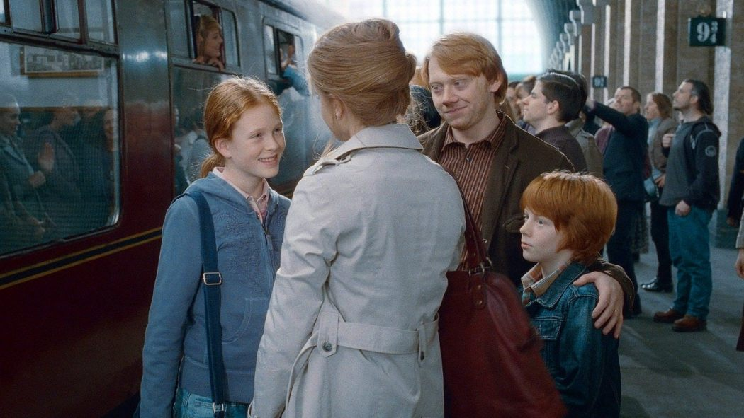 And here s the granger weasley family from harry potter - Ron weasley and hermione granger kids ...