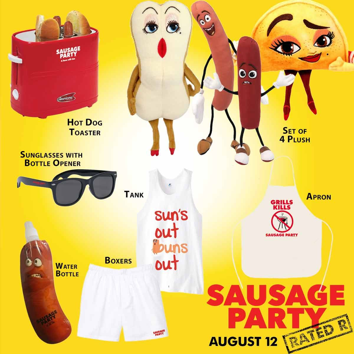 Birth.Movies.Giveaway: Win This Awesome SAUSAGE PARTY
