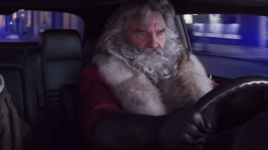 The Christmas Chronicles Trailer.Santa Steals A Car In The New Christmas Chronicles Trailer