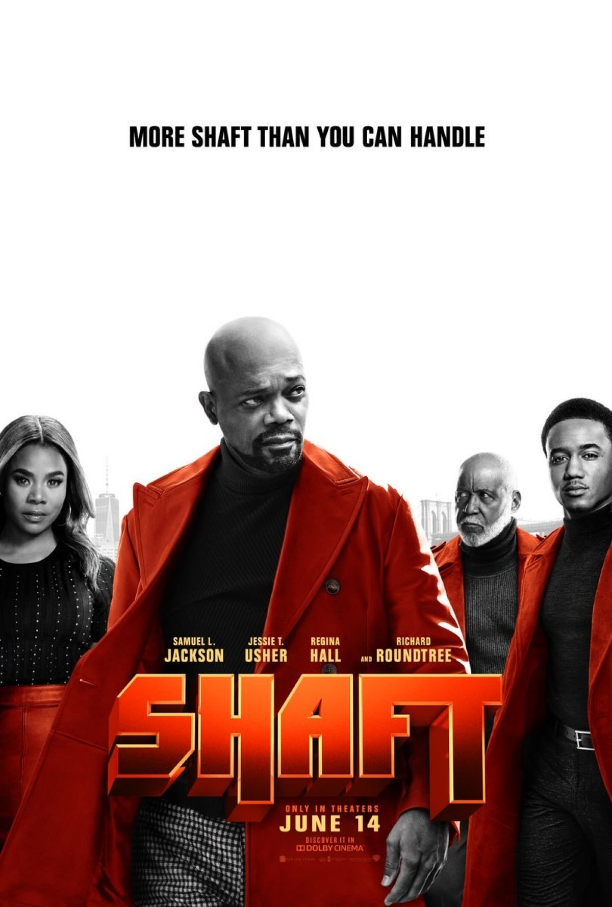 "New SHAFT Poster Immediately Wins The ""Best Tagline Of"