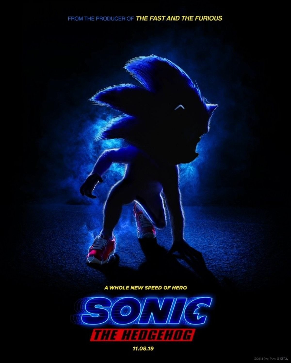First Sonic The Hedgehog Poster Will Make You Scream Oh Dear God Why Does Sonic Look Like That Birth Movies Death
