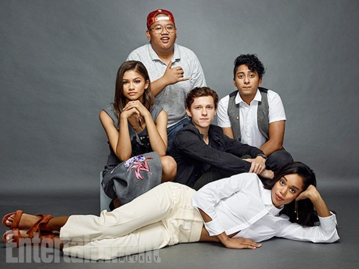 Image result for spiderman homecoming cast