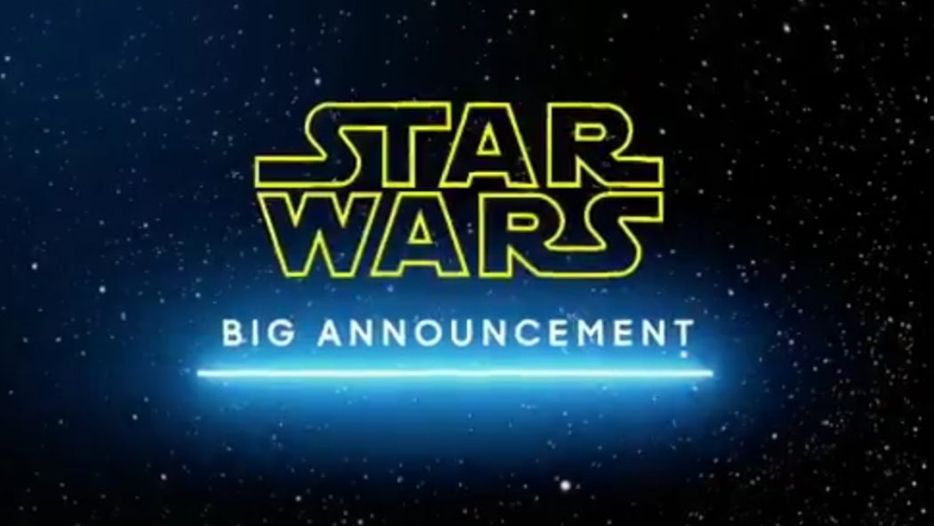 Good Morning America Tomorrow : Reckless speculation what huge star wars announcement