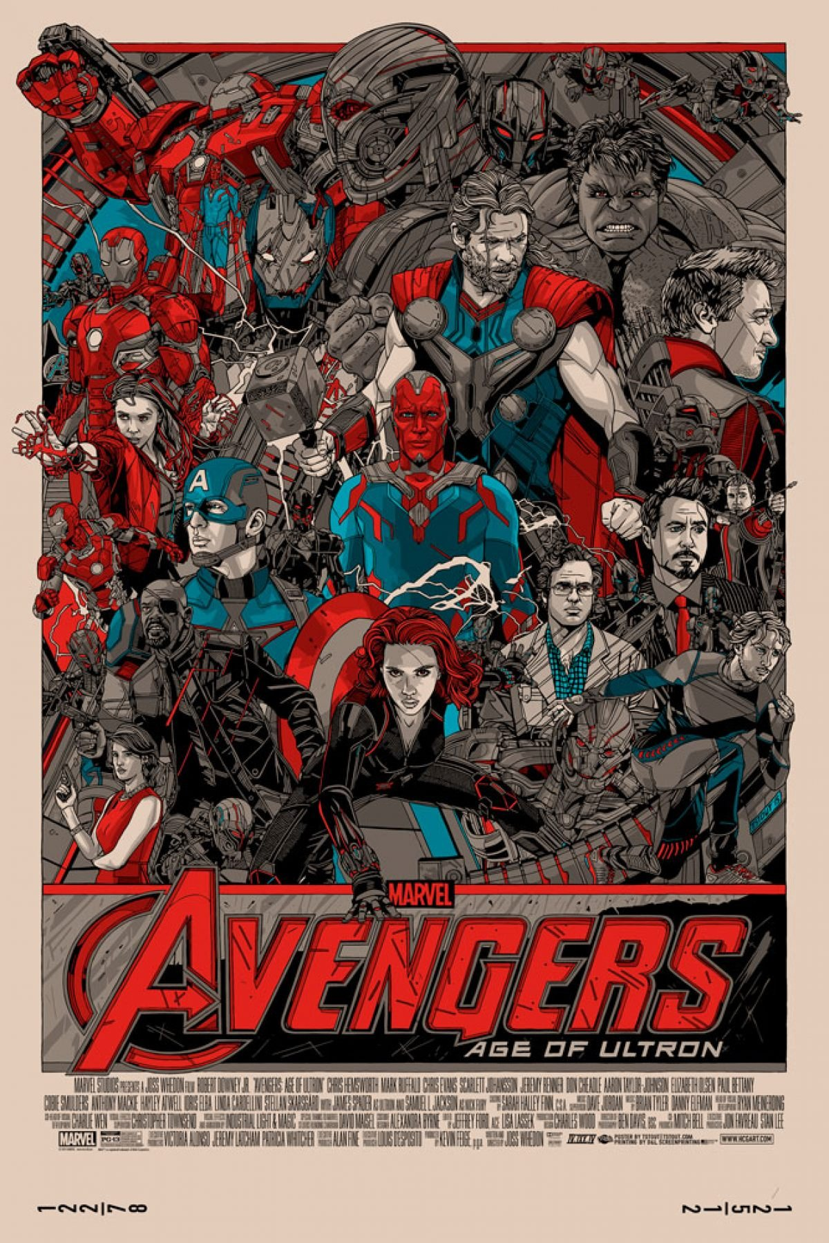 Tyler Stout Returns With A Crazy-Detailed AVENGERS: AGE OF ...