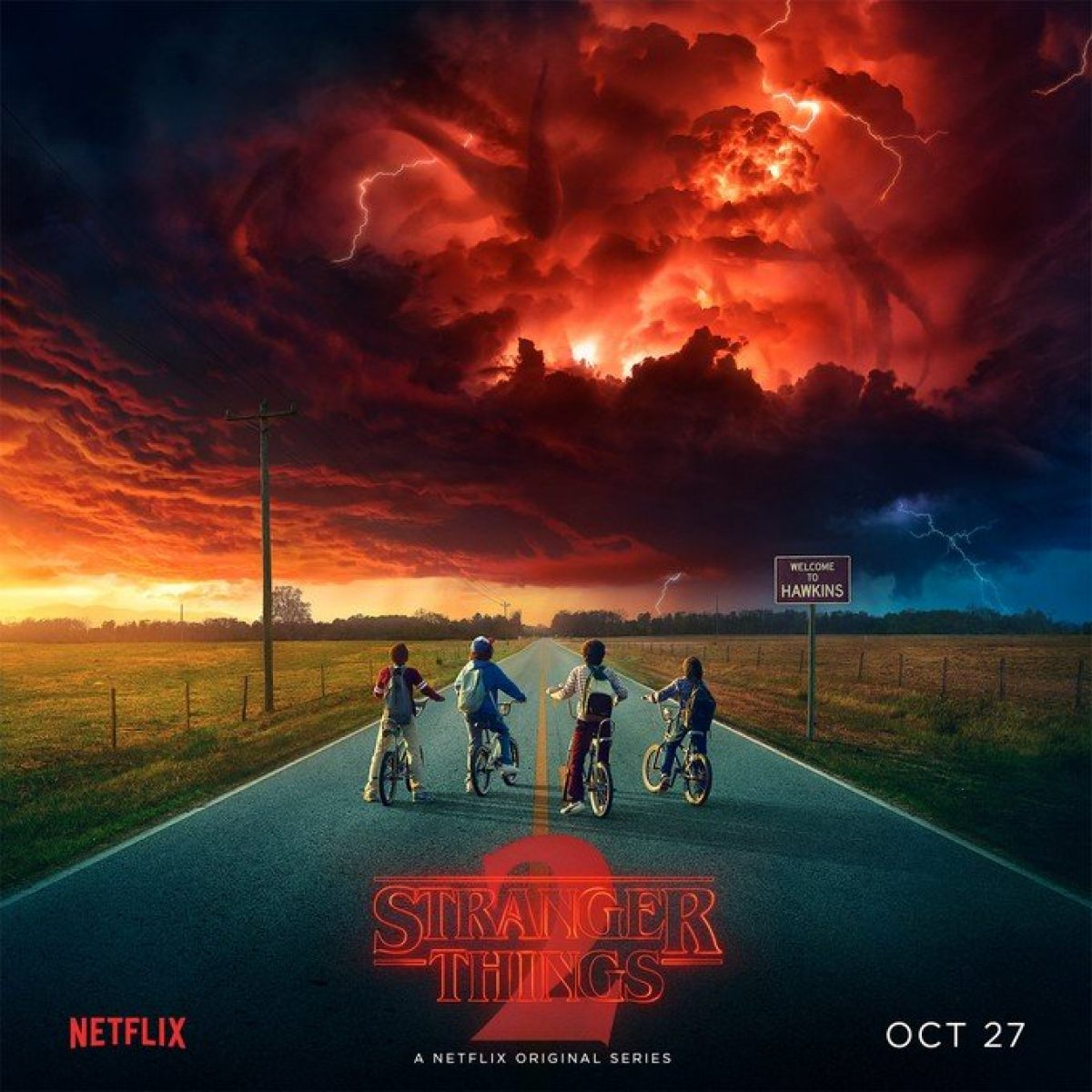 STRANGER THINGS Season Two Gets A Lovecraftian New Poster