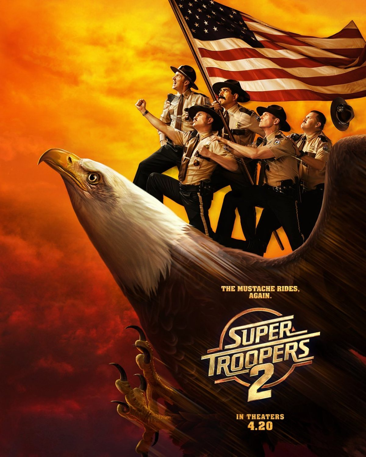 The SUPER TROOPERS 2 Poster Will Restore Your Faith In