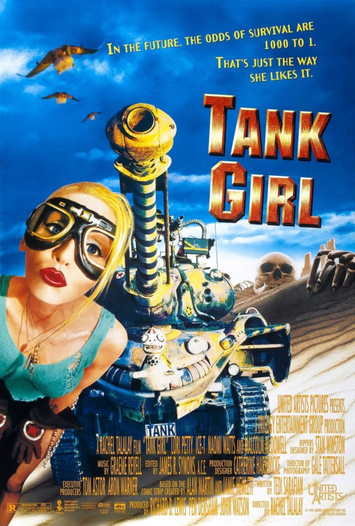 Tank Girl has teamed up with Humble Bundle to bring you (almost) the entire back catalogue for A REALLY SILLY PRICE! And a big chunk the profits will go to the fabulous HERO INITIATIVE, a charity set up to help comic creators in need.