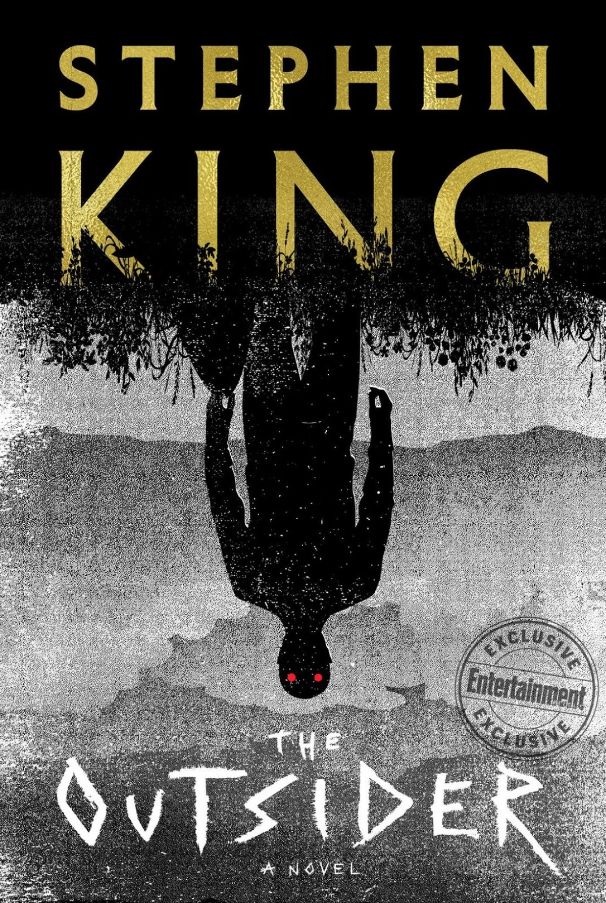 Really Cool Book Covers : Behold the cover of stephen king s outsider birth