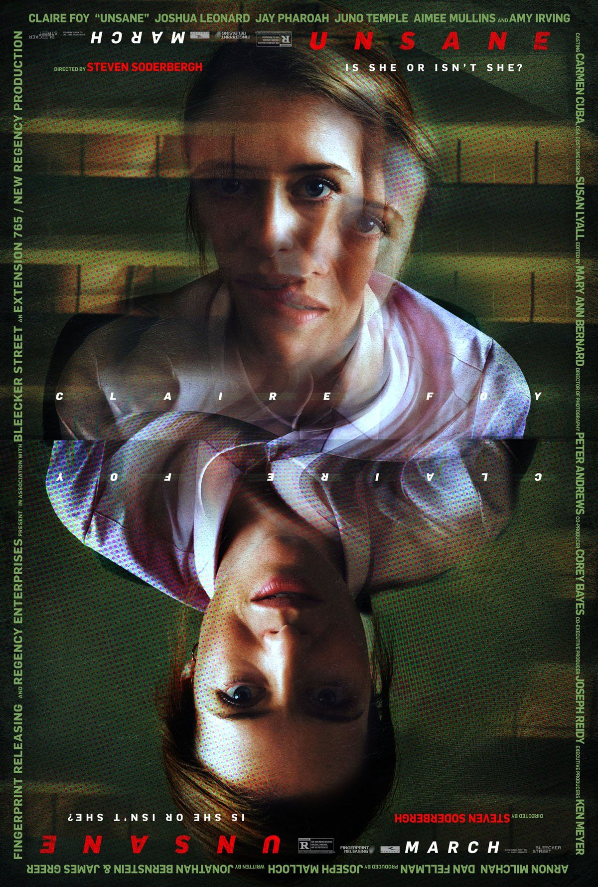Affiche du film UNSANE de Steven Soderbergh