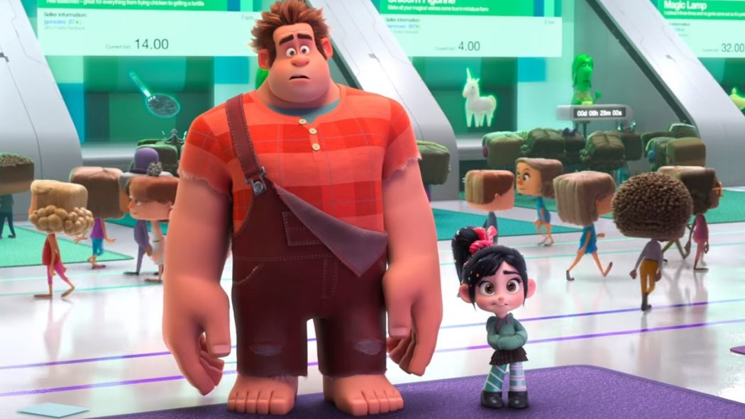 The WRECK-IT RALPH 2 Trailer Is Here To Break The Internet ...