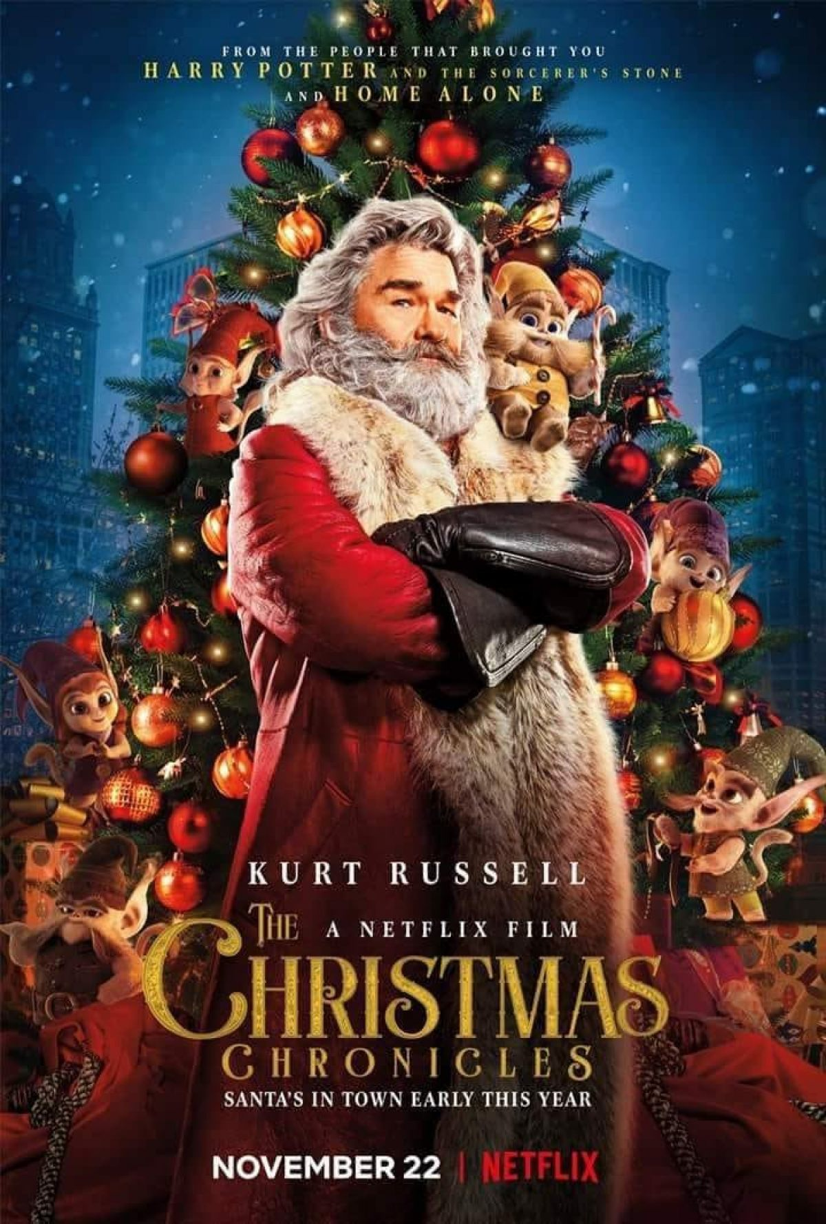 Kurt Russell Finally Plays Santa Claus In First THE ...