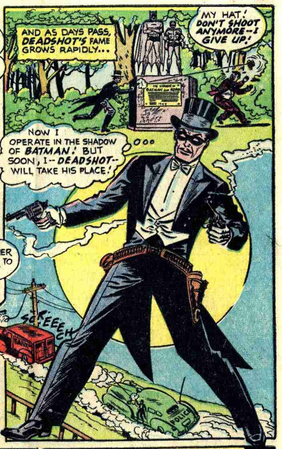 Flash facts deadshot birthviesath created in 1950 by david vern reed lew schwartz and bob kane deadshot first showed up in the pages of batman as a rival for the caped crusader fandeluxe Images