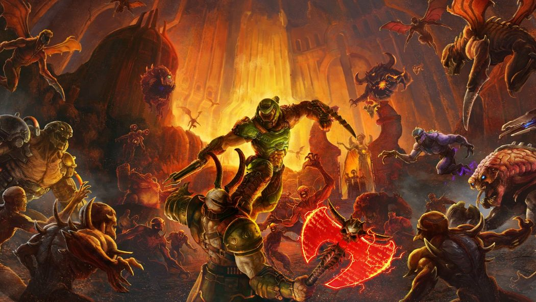 doom eternal key art 1050 591 81 s c1 - DOOM ETERNAL Game Review: Canceling The Apocalypse