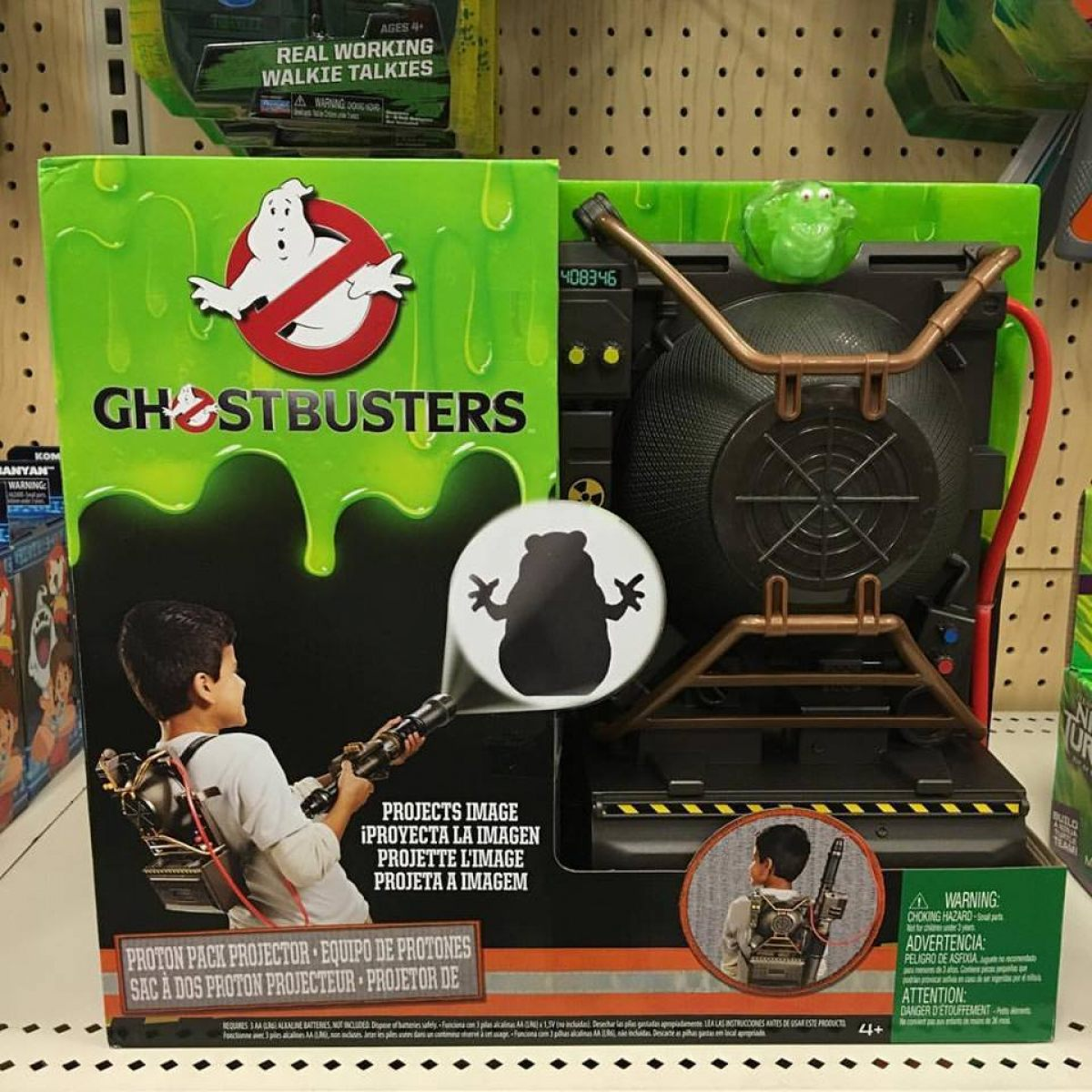 Ghostbusters Proton Pack Toy For Kids