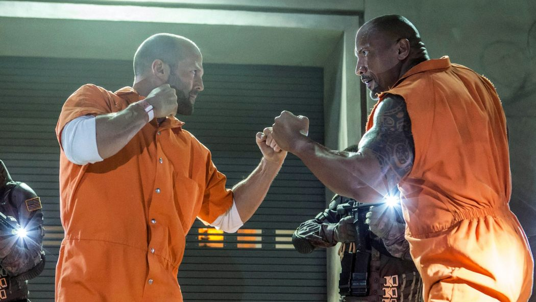 Big, Bald, Beautiful: Here's A Romantic Set Photo From HOBBS AND SHAW