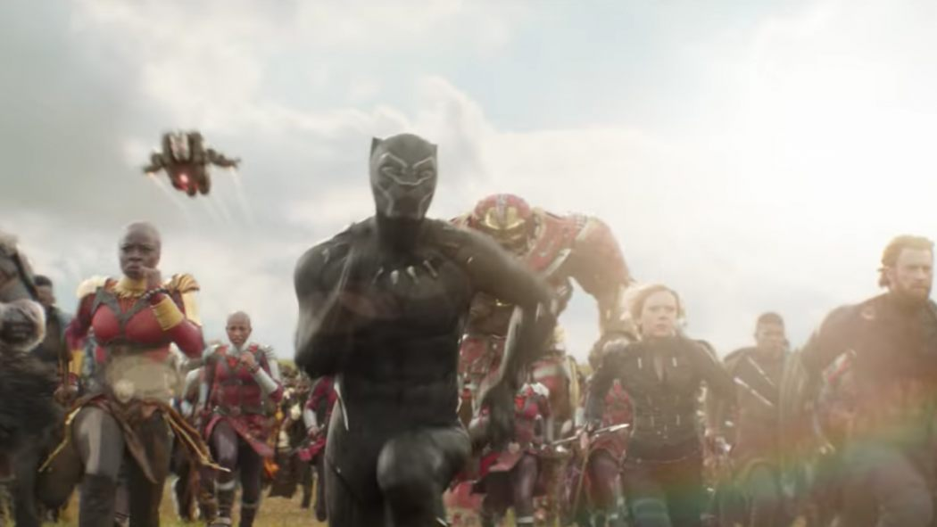 Time Out Trailers >> BLACK PANTHER Owns New AVENGERS: INFINITY WAR TV Spot | Birth.Movies.Death.