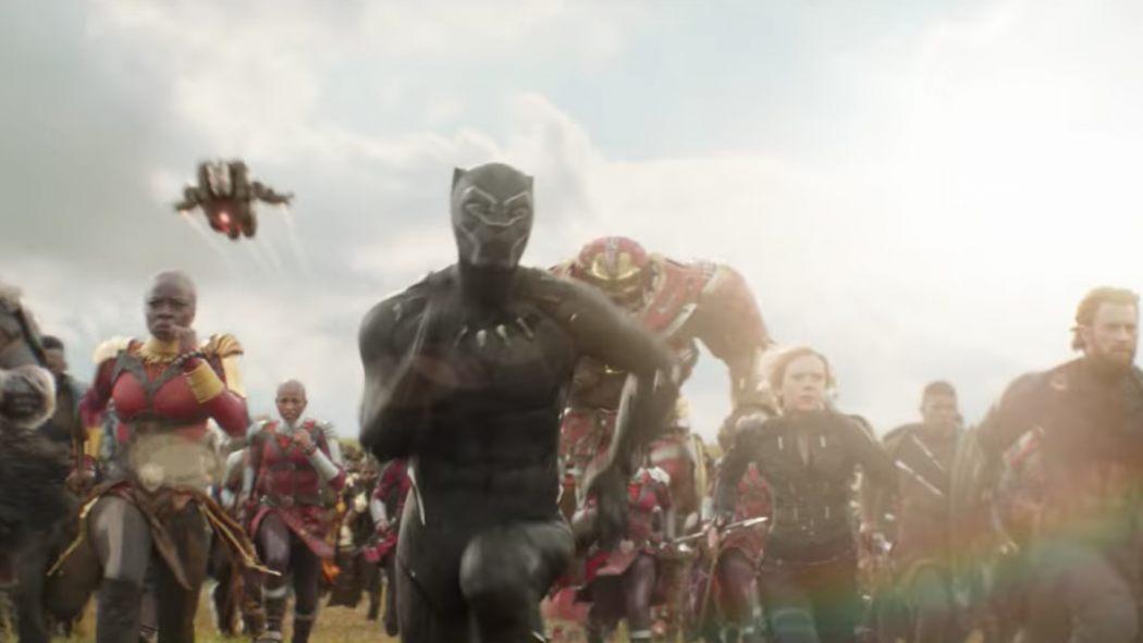 Black Panther Owns New Avengers Infinity War Tv Spot