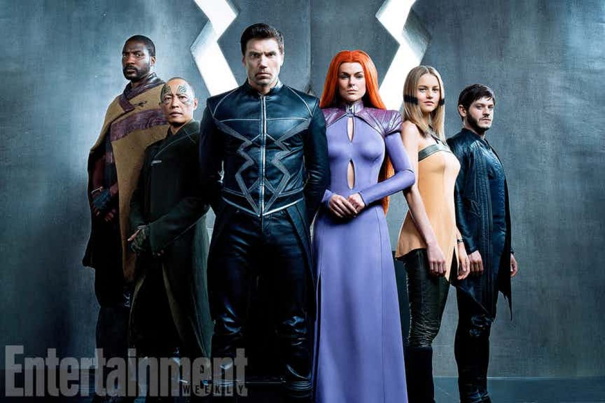 Marvel's Inhumans: First look at Anson Mount, Serinda Swan, cast