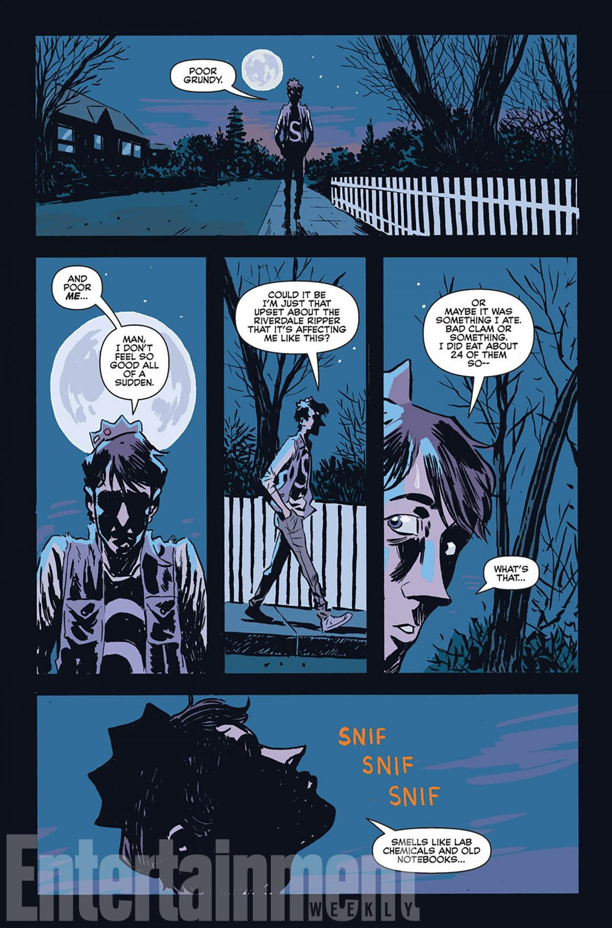 New Archie Horror Comic Delivers Werewolf Jughead Birth