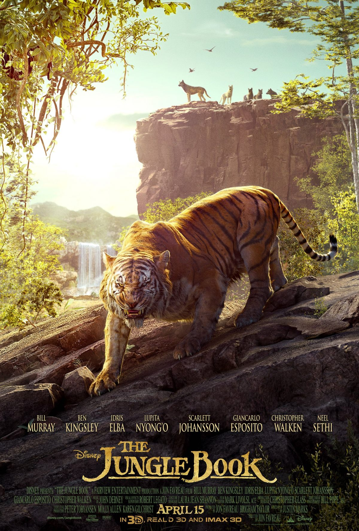 the jungle book poster number two has arrived birth movies death. Black Bedroom Furniture Sets. Home Design Ideas