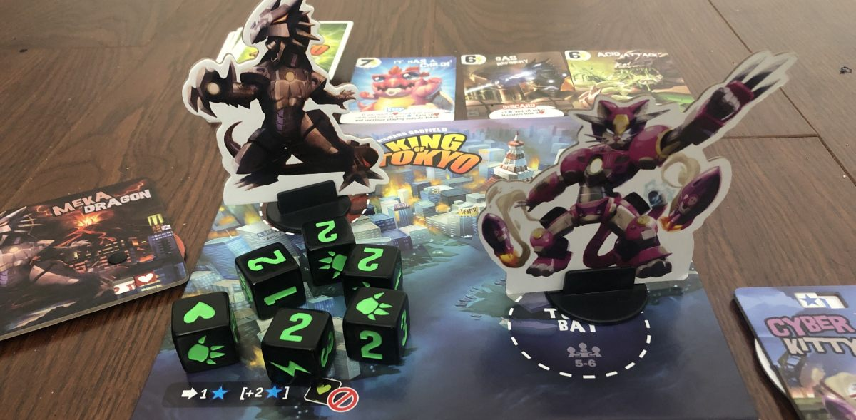 Board Game Review: KING OF TOKYO | Birth Movies Death