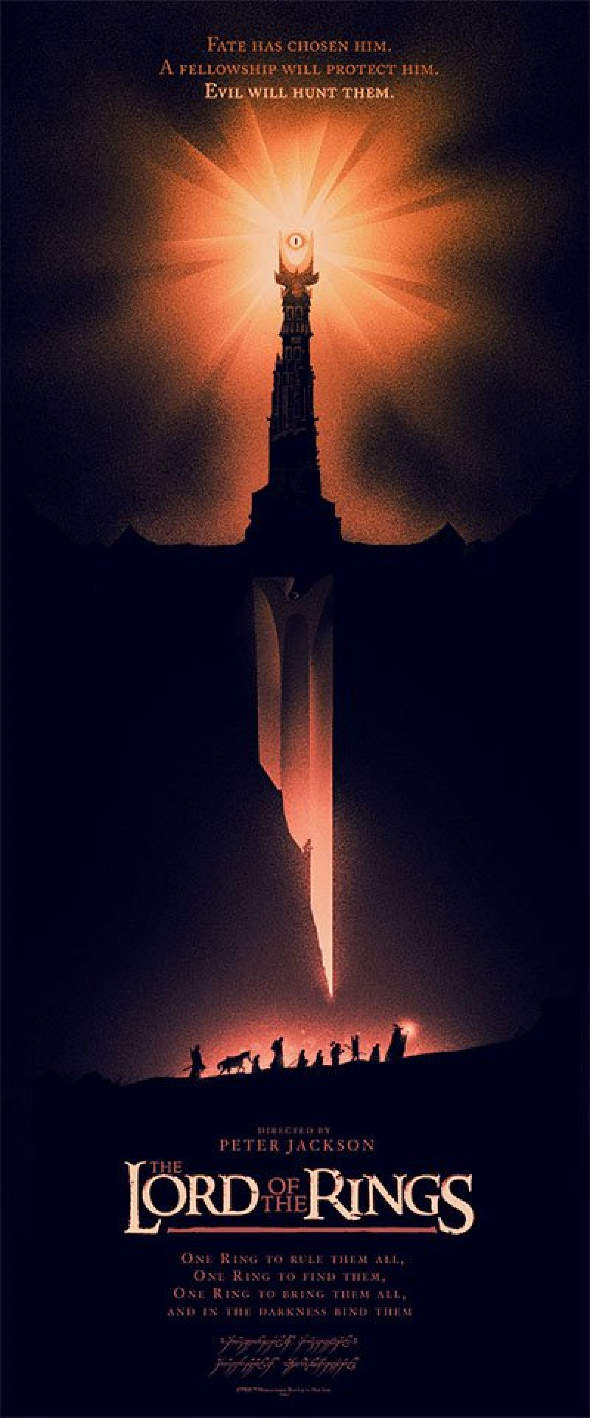 Lord Of The Rings Movie Poster Gimme: These New Mondo...
