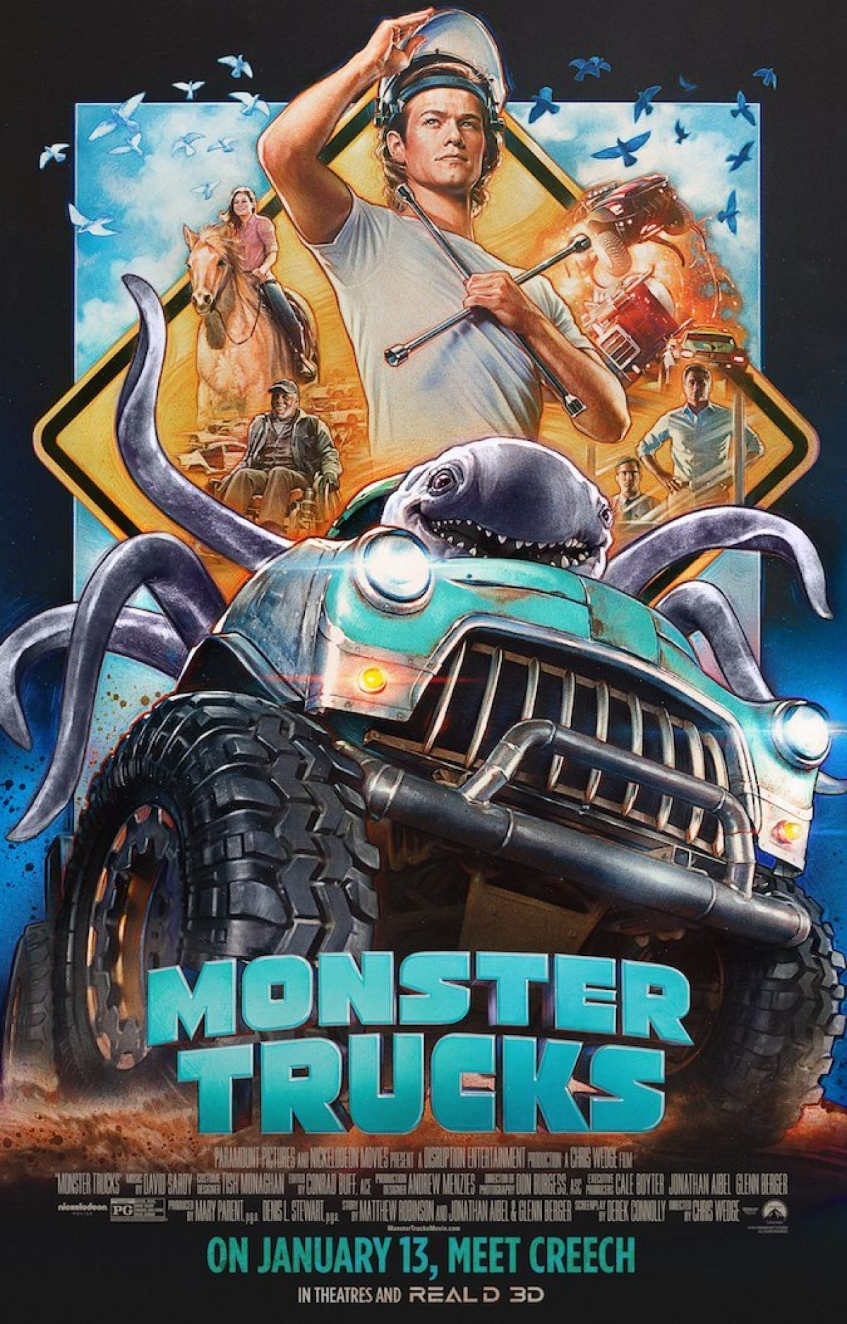 Monster Truck Film