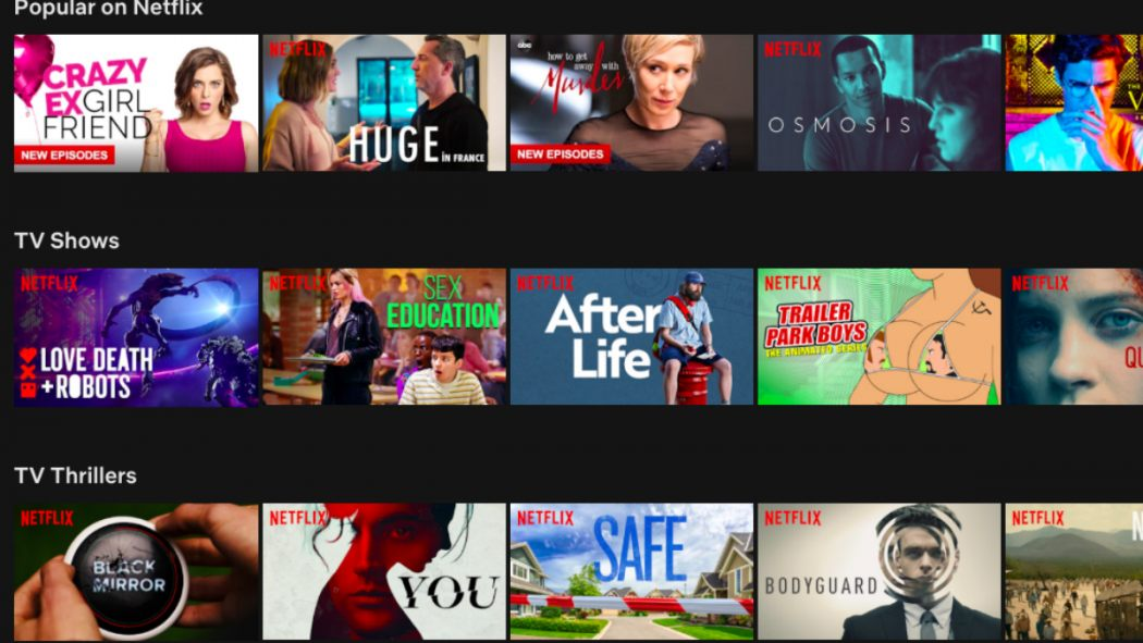 "Netflix Is Reportedly Testing A ""Shuffle"" Feature For TV Shows - Birth.Movies.Death."