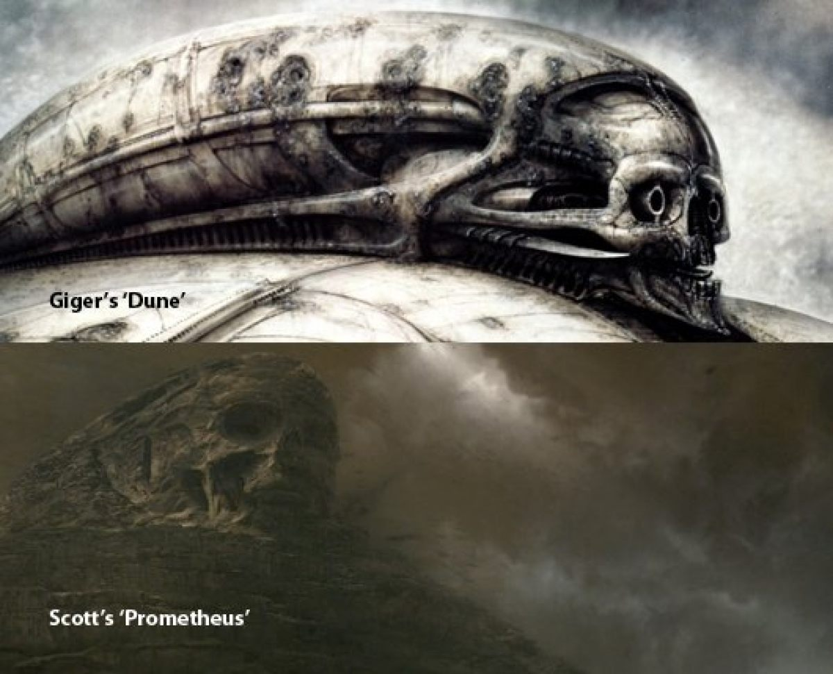 And so it all comes full circle. It seems fitting. And makes more ... H.r. Giger Tattoo